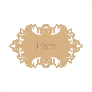 Placa Personalizada Decorativa Para Casamento MDF Cru 3mm