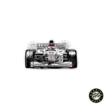 Adesivo BAR 002 Lucky Honda F1 Formula 1