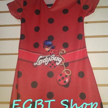 Fantasia Infantil - Ladybug - LIQUIDAÇÃO