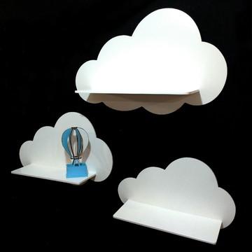 Prateleira Nuvem e Balão Azul