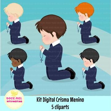 Kit Digital Catequese Menino