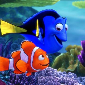 Faixa decorativa em adesivo do Procurando Nemo