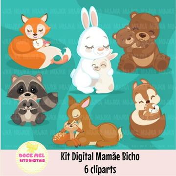 Kit Digital Mamãe Bicho