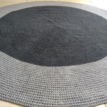 Tapete Infantil em Crochê Personalizável 1,5 m