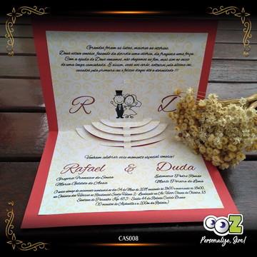 Convite Casamento Especial Altar