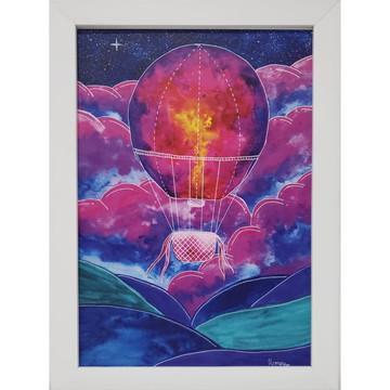 Balão de sonhos - Obra impressa (técnica aquarela)
