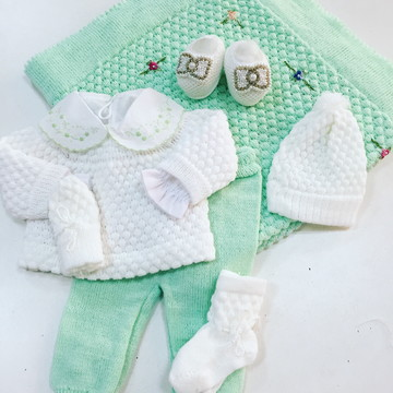 Saída de Maternidade para Princesas!! Lã