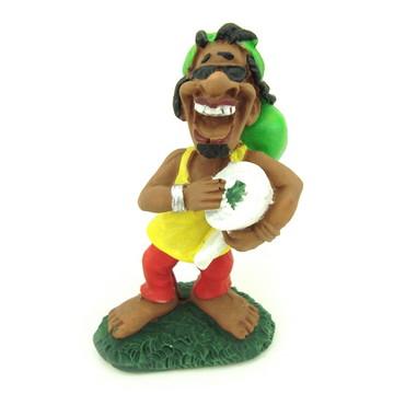 Bob Marley Batuque feito em Resina