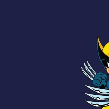 Faixa decorativa para quarto do Wolverine