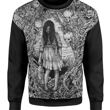 Moletom Blusa Gotico Ocultismo Satanismo Terror 9