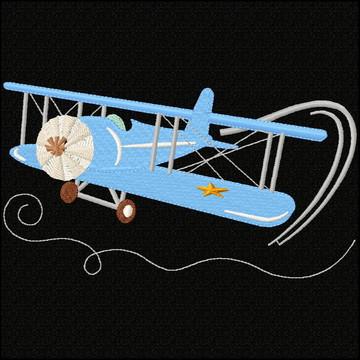 Matriz De Bordado NB2232 Aviao13x18