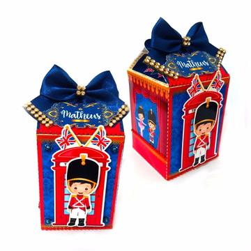 caixa milk soldadinho de chumbo lembrancinha aniversario