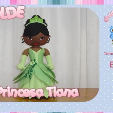 Molde Princesa Tiana