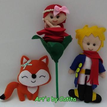 Kit Pequeno Principe - 3 personagens