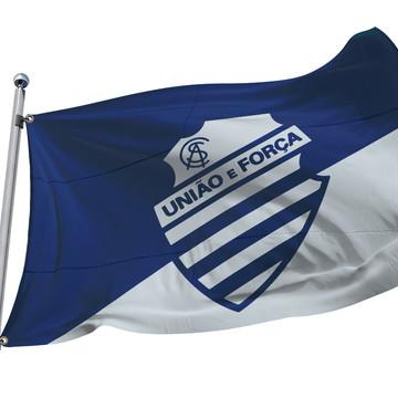 Bandeira do CSA Azulão de Alagoas. 1,40m x 1m - Microfibra
