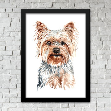 Quadro Yorkshire Terrier