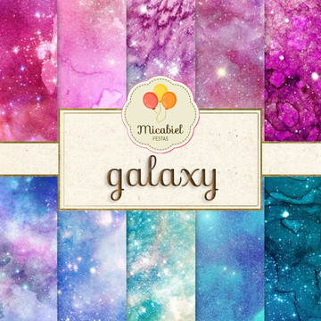 Papel Digital - Galaxy (luxo)