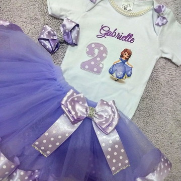 Kit tutu Princesa Sophia