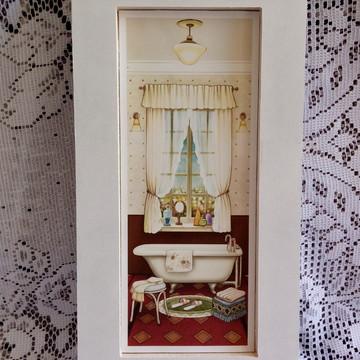 Quadro lavabo de arte francesa