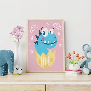 Poster digital Dinossauro