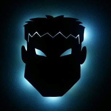 Hulk - Luminária de Parede Grande