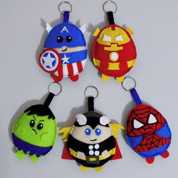 Chaveiros Heróis