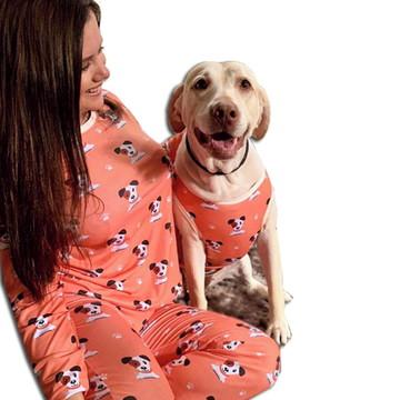 Pijama Tal Mãe Tal Pet AU AU
