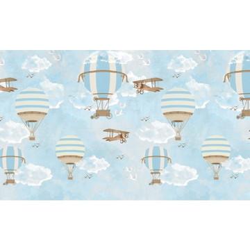 Painel de festa Balões e Aviões