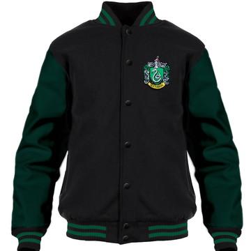 Jaqueta Harry Potter Sonserina (Verde) Moletom College