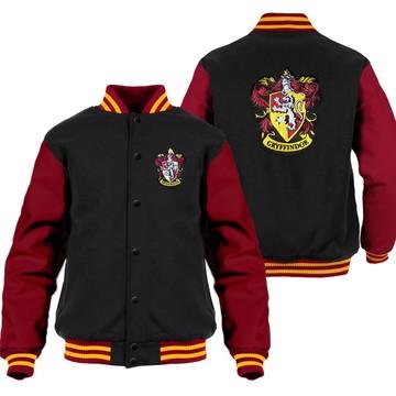 Jaqueta Harry Potter Grifinória (Vermelho) Moletom College