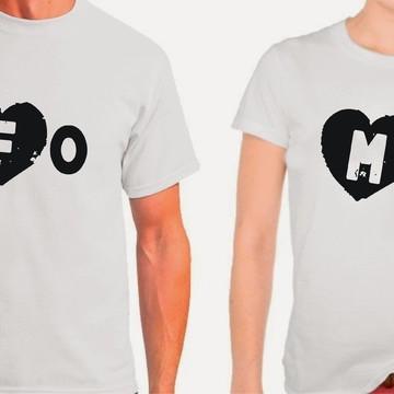 Kit Camisetas Namorados Fome
