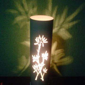 Luminária ramo de bambu