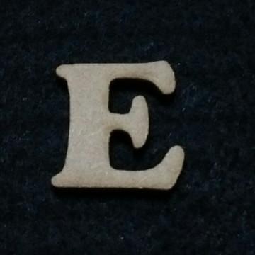 Letra E em MDF 3mm