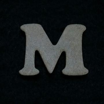 Letra M em MDF 3mm