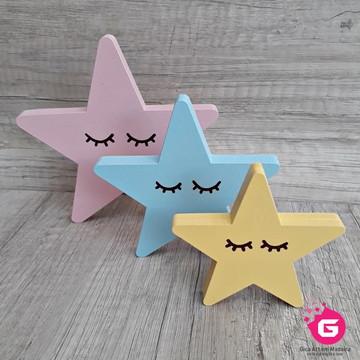 Trio de Estrelas Baby Mdf