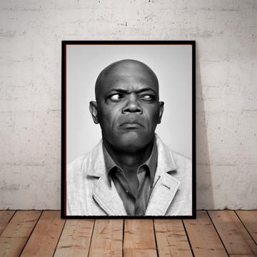 Quadro Poster Samuel L. Jackson