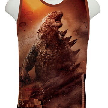 Camiseta Filme Godzilla - Regata