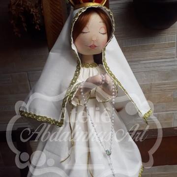 """Nossa Senhora de Fátima """"Coleção Encantos"""""""