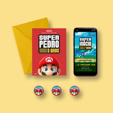 Kit Party M Super Mario Run