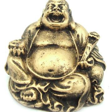Buda Chines Mini feito em Resina