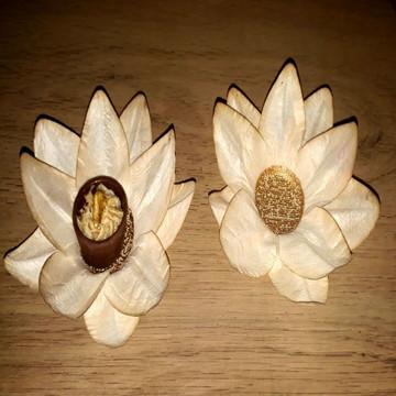 Forminhas viscose tingimento artesanal