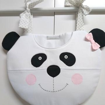 Porta Fraldas Cabeça de Urso Panda