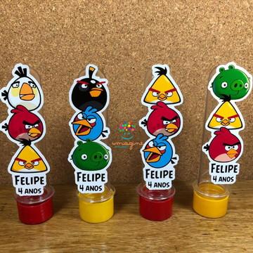 Aplique Tubete Angry Birds