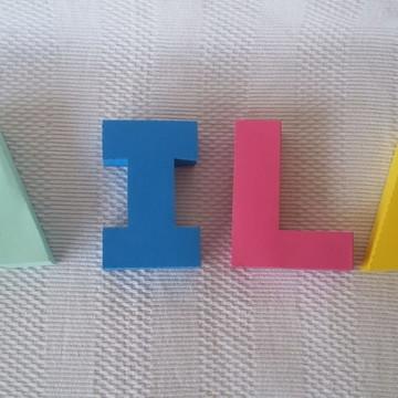 Alfabeto 3D
