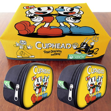 1 Capa XBOX + 2 Capas de controle Cuphead FRETE GRÁTIS
