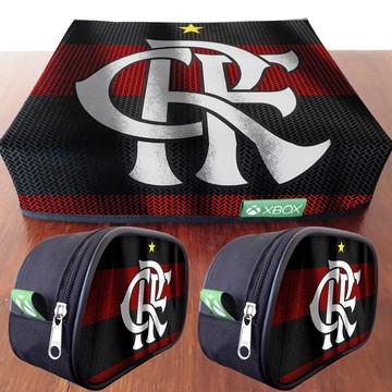 1 Capa XBOX + 2 Capas de controle Flamengo FRETE GRÁTIS