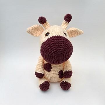Girafa Kirin amigurumi