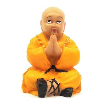 Buda Chines Rezando feito em Resina