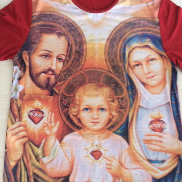 Camiseta Sagrada Família de Nazaré