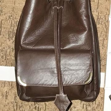 0557f6bc0 Bolsa transversal saco couro legítimo FABRICAÇÃO PRÓPRIA